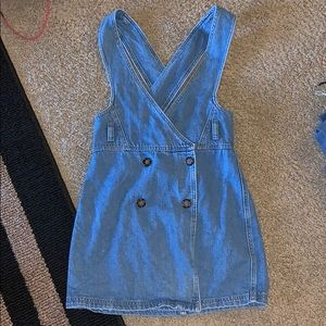 BDG urban outfitters denim overall dress